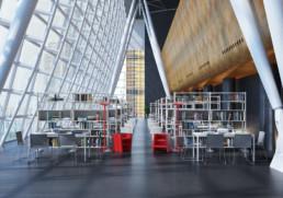 Rendering ambiente Biblioteca by Diemmebi