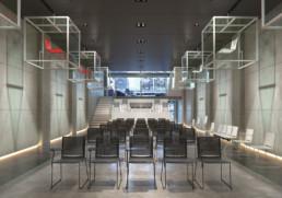 Rendering ambiente Show Room by Diemmebi