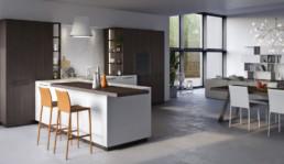 Rendering Cucina modello 5 by Vettoretti variante inquadratura