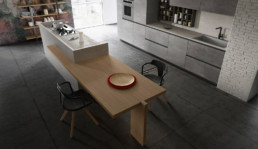 Rendering Cucina modello 6 by Vettoretti variante inquadratura