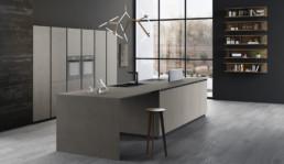 Rendering Cucina modello 8 by Vettoretti variante inquadratura