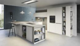 Rendering Cucina modello 9 by Vettoretti variante inquadratura