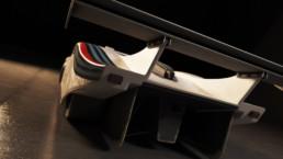 Modellazione 3D Lancia LC1 vista retro