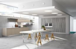 Rendering cucina modello 2 by Atra Cucine