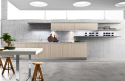 Rendering cucina modello 1 variante inquadratura 2 by Atra Cucine