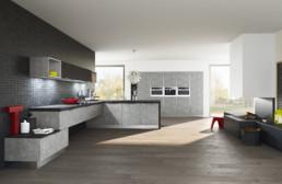 Rendering cucina modello 3 by Atra Cucine