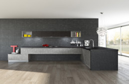 Rendering cucina modello 3 variante inquadratura by Atra Cucine