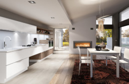 Rendering cucina modello 5 variante inquadratura 2 by Atra Cucine