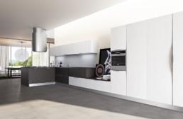 Rendering cucina modello 6 by Atra Cucine