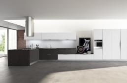 Rendering cucina modello 6 variante inquadratura by Atra Cucine