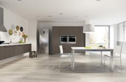 Rendering cucina modello 7 variante inquadratura by Atra Cucine