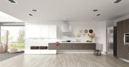 Rendering cucina modello 7 by Atra Cucine