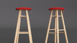 Rendering sgabello Tag Stool by Sovet