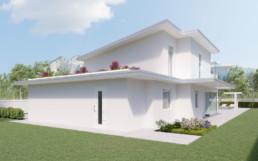 Rendering villa 1 inquadratura reatro