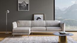 Rendering divano bianco